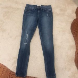 Jessica Simpson Distressed skinny jeans